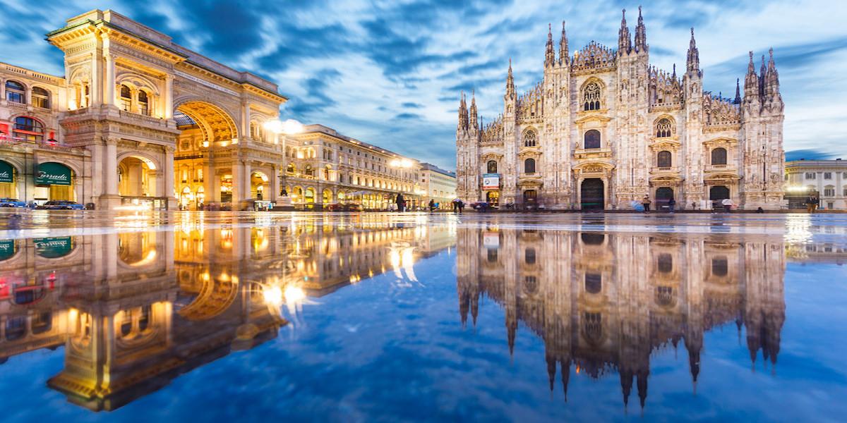 Sabato sera Milano
